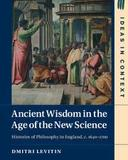 """Book Cover for Ancient Wisdom in the Age of the New Science"""""""