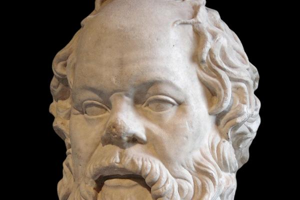 Marble Bust of Socrates, Louvre