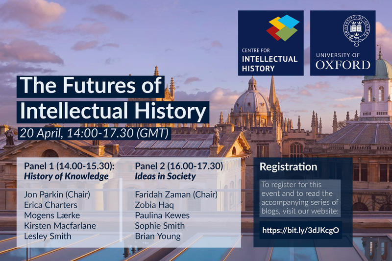 cih futures of intellectual history poster