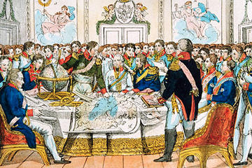 The Leaders of Europe in Debate during the Congress of Cienna 1814-15