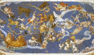 1599px le plafond de la salle de la mappemonde palais farnese caprarola italie