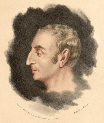 1825 Portrait of Saint-Simon by Godefroy Engelmann