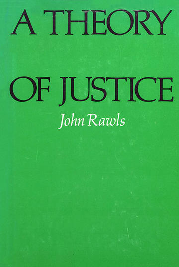 a theory of justice  first american hardcover edition