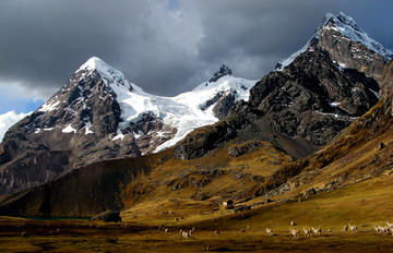 ausangate hillside