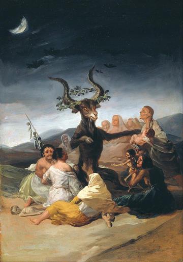 francisco de goya y lucientes  witches sabbath