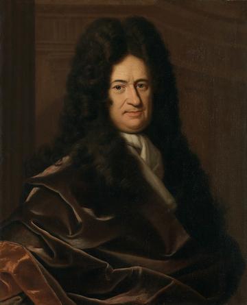 Leibniz by Christoph Bernhard Francke