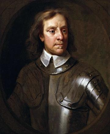 Oliver Cromwell by Samuel Cooper 1656