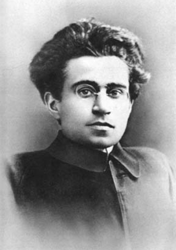 Photograph of Antonio Gramsci in the early 1920s