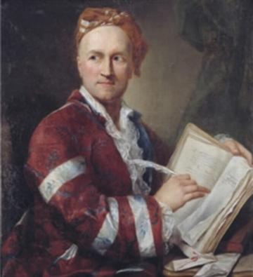 Portrait of Emer de Vattel