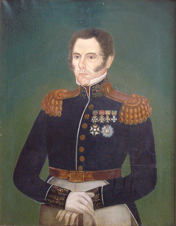Posthumous Portrait of Bento Goncalves da Silva