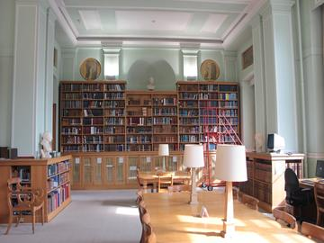taylor institution library voltaire room